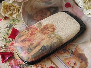 Декупаж панели сотового телефона | Ярмарка Мастеров - ручная работа, handmade