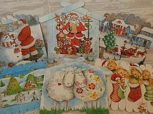 Мастерим новогодние поделки из медицинских шпателей | Ярмарка Мастеров - ручная работа, handmade