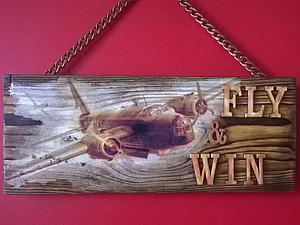 Как сделать панно для летчика. Ярмарка Мастеров - ручная работа, handmade.