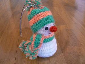 Снеговичок | Ярмарка Мастеров - ручная работа, handmade