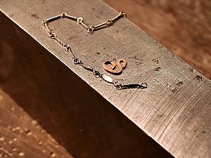 Как плющить звенья цепочки и детали украшений из медной проволоки. Ярмарка Мастеров - ручная работа, handmade.