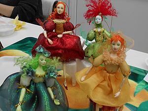 Отчёт о проведённом Новогоднем МК по куколке-шарнирочке на ёлку   Ярмарка Мастеров - ручная работа, handmade