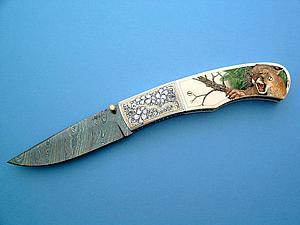 Авторское художественное оружие. Ножи с резными ручками. Часть первая   Ярмарка Мастеров - ручная работа, handmade
