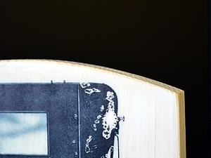 Вечный календарь настольный, мастер-класс по вживлению лазерной распечатки в дерево. Ярмарка Мастеров - ручная работа, handmade.