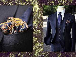 Нагрудный платок-паше | Ярмарка Мастеров - ручная работа, handmade