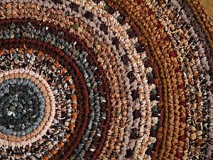 Вяжем текстильный коврик | Ярмарка Мастеров - ручная работа, handmade