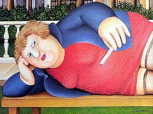 Полнота жизни от Beryl Cook | Ярмарка Мастеров - ручная работа, handmade