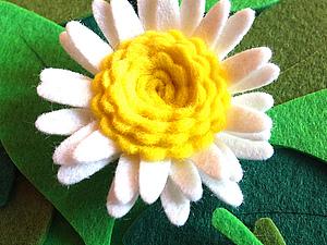Цветы из фетра. | Ярмарка Мастеров - ручная работа, handmade