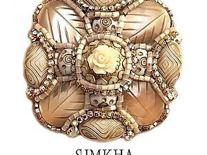 Мастер-класс от Ольги Шнейдеровой - тема 1.2 Брошь «Мальтийский крест» крупный со сложным декором | Ярмарка Мастеров - ручная работа, handmade