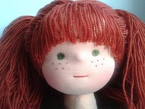Вышиваем веснушки! | Ярмарка Мастеров - ручная работа, handmade