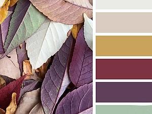 Осеннее вдохновение. Цветовые сочетания | Ярмарка Мастеров - ручная работа, handmade