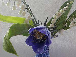 Сон-трава из полимерной глины: мастер-класс. Ярмарка Мастеров - ручная работа, handmade.