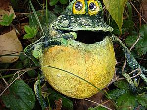 Лягушонок | Ярмарка Мастеров - ручная работа, handmade