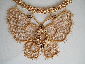 сутаж бабочка