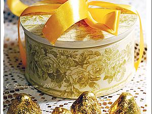 Подарочная новогодняя шкатулка. Ярмарка Мастеров - ручная работа, handmade.