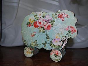 Новый МК!! Символ Нового года 2015!! Винтажная овечка   Ярмарка Мастеров - ручная работа, handmade