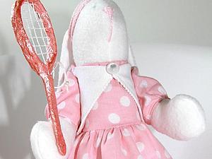 Изготовление теннисной ракетки для зайца