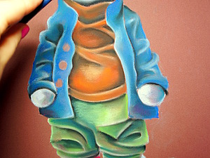 Рисуем Барсика: первые шаги. Ярмарка Мастеров - ручная работа, handmade.