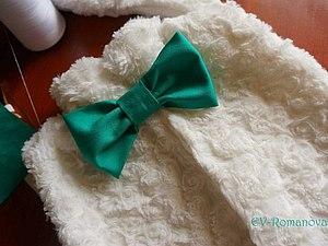 Как просто сделать галстук-бабочку. Ярмарка Мастеров - ручная работа, handmade.