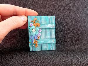 Создаем миниатюрный шедоу-бокс из полимерной глины. Ярмарка Мастеров - ручная работа, handmade.