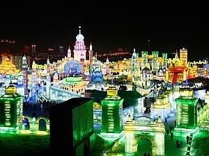 Международный фестиваль льда и снега в городе Харбин | Ярмарка Мастеров - ручная работа, handmade