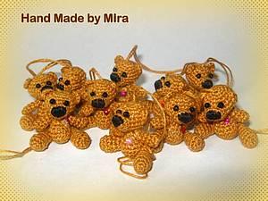 Мишка-брелок | Ярмарка Мастеров - ручная работа, handmade