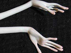 Лепка Рук из Самозастывающего Пластика. Ярмарка Мастеров - ручная работа, handmade.