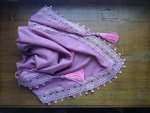 Весенний шарф бактус