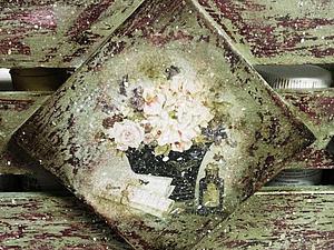 «Чердачная Вешалка» декупаж, несколько техник старения! | Ярмарка Мастеров - ручная работа, handmade