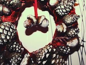 Видео мастер-класс: мастерим новогодний венок из газетных трубочек.. Ярмарка Мастеров - ручная работа, handmade.