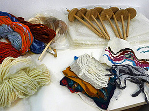 Как прошел мастер-класс по прядению | Ярмарка Мастеров - ручная работа, handmade