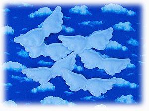 Просто ангельские крылышки. | Ярмарка Мастеров - ручная работа, handmade
