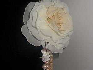 мастер- класс по изготовлению розы без инструментов | Ярмарка Мастеров - ручная работа, handmade