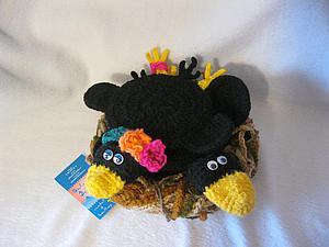 Подставки для чашек и чайника или вязаное гнездо в подарок к Пасхе   Ярмарка Мастеров - ручная работа, handmade