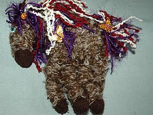 Новогодняя конфета - лошадка | Ярмарка Мастеров - ручная работа, handmade