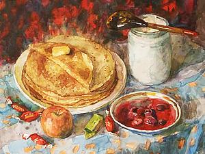 Масленица в картинах русских художников