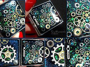 Стимпанк зеркало,брелок, зеркало в стиле Стимпанк / Steampunk | Ярмарка Мастеров - ручная работа, handmade