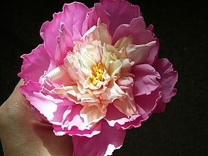 Цветы из фоамирана (пластичная замша).   Ярмарка Мастеров - ручная работа, handmade