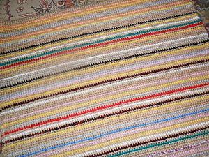 Аукцион!Деревенский коврик. | Ярмарка Мастеров - ручная работа, handmade