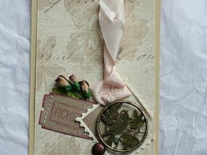 Делаем милую открытку-комплимент. Ярмарка Мастеров - ручная работа, handmade.
