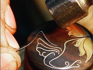 Мастер-класс: инкрустация по дереву «Колибри». Часть 1. Ярмарка Мастеров - ручная работа, handmade.