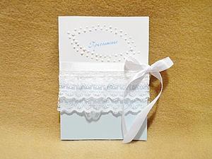 Пригласительное на свадьбу своими руками   Ярмарка Мастеров - ручная работа, handmade