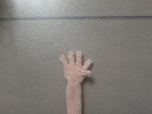 Как связать изящные пальчики кукле. Ярмарка Мастеров - ручная работа, handmade.