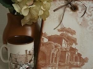 """""""Венецианское кружево"""" декорируем разделочную доску. Ярмарка Мастеров - ручная работа, handmade."""