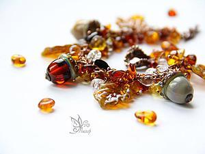 Собираем браслет-гроздь «Очей очарованье». Ярмарка Мастеров - ручная работа, handmade.