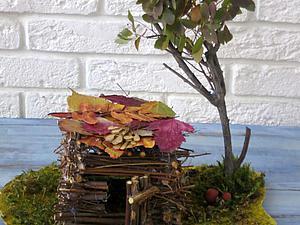 Делаем с детьми домик из природных материалов. Ярмарка Мастеров - ручная работа, handmade.