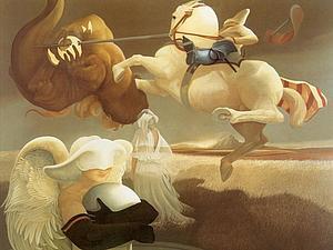 Магические картины Michael Parkes | Ярмарка Мастеров - ручная работа, handmade