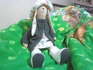 Заяц для племянницы | Ярмарка Мастеров - ручная работа, handmade