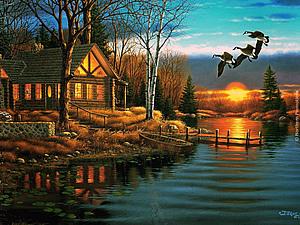 Волшебные пейзажи Дерка Хансена | Ярмарка Мастеров - ручная работа, handmade