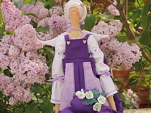 Быстро и легко шьем Тильду Садового ангела за 14 шагов. Ярмарка Мастеров - ручная работа, handmade.